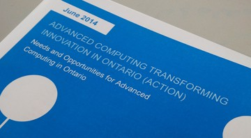 ACTION report - Advanced Computing Transforming Innovation in Ontario
