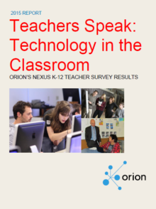 ORION report: Helping solve digital challenges in Ontario classrooms