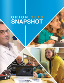 ORION 2013 Annual Snapshot