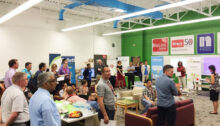 ihub : A model of connected community space