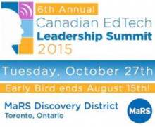 Mindshare Learning 6th Canadian  EdTech Leadership Summit