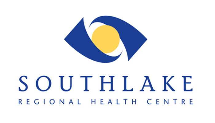 The image shows the official logo that represents southlake regional health center