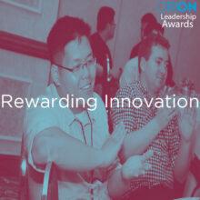 Leadership awards: Rewarding innovation