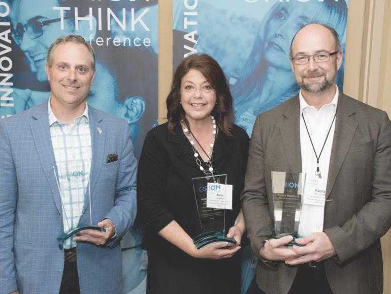 ORION Leadership Award winners 2017