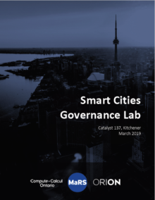 Smart City Governance Lab Report, March 2019