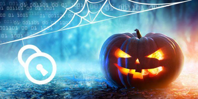 Pumpkin with online lock