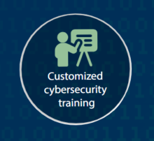 Customized cybersecurity training header image