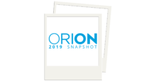 ORION 2019 Snapshot