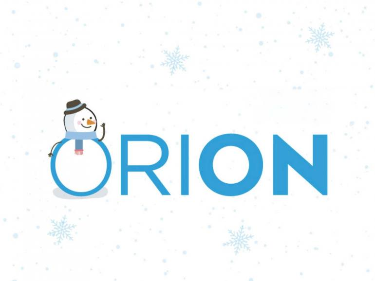 ORION Holiday Logo