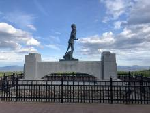 A picture of the Terry Fox memorial in Thunder Bay