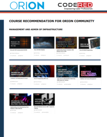 CodeRed Recommned Courses Thumbnail